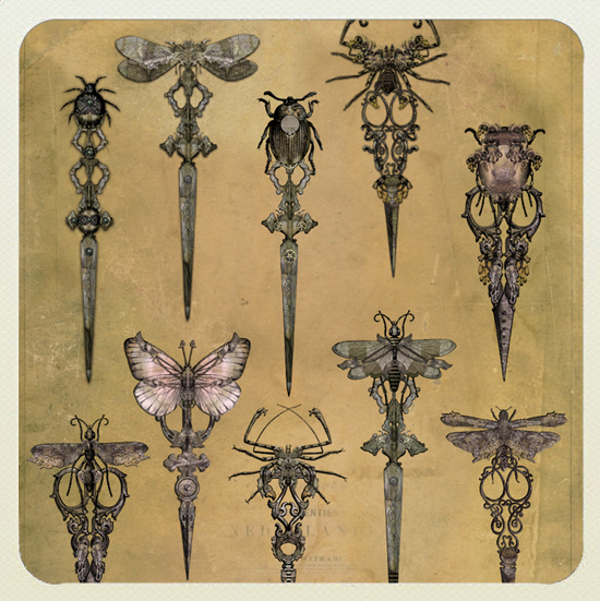 The Right Tool Artwork - The Cursed Shears - From the Snapdragon Tea Stories by Bethalynne Bajema