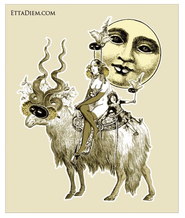 Loom Basil, Goddess of the Autumn Moon
