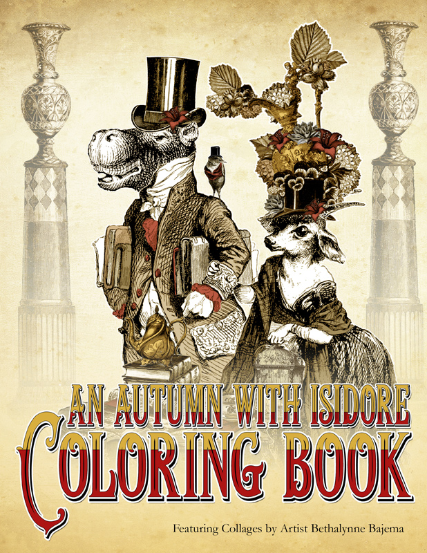 Ver Sacrum Books - An Autumn with Isidore Coloring Book